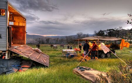 recreate: Camping Holiday