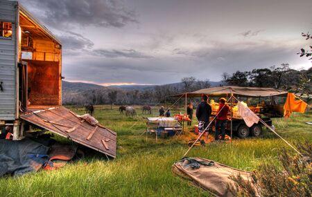 Camping Holiday Stock Photo - 2557297