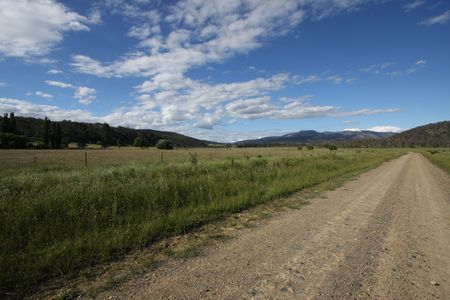 Australian road photo