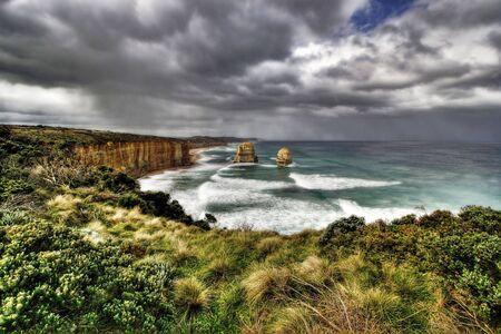 apostles: The Twelve Apostles - Great Ocean Road Stock Photo