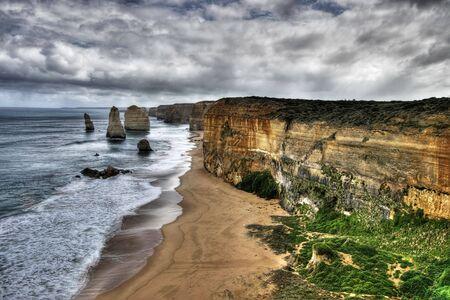 great bay: The Twelve Apostles - Great Ocean Road Stock Photo