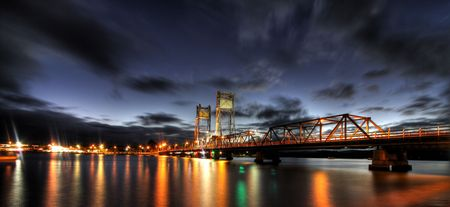 Clyde River Bridge in Batmans Bay