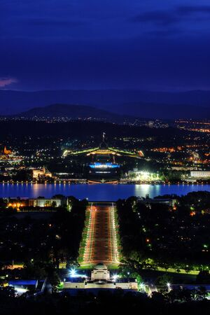 Australian Parliament House for the Federal Government in Canberra photo