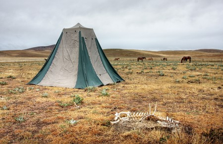 torridity: Camping in drought stricken land in Australia