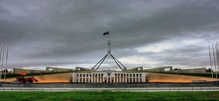 senate: Australian Parliament House for the Federal Government in Canberra