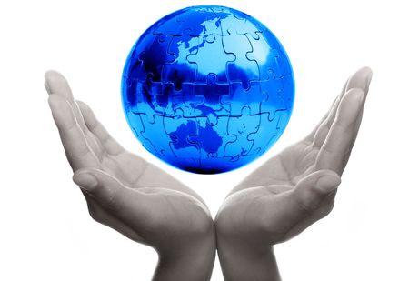 prayer hands: Prendersi cura della Terra e per tutelare il nostro futuro