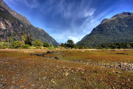 New Zealand Fiordland at the Milford Sound  Stock Photo - 4854591
