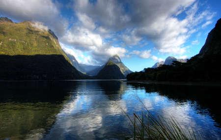 New Zealand Fiordland at the Milford Sound  Stock Photo - 4854499