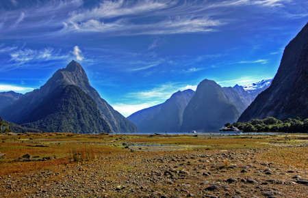 milford: New Zealand Fiordland at the Milford Sound