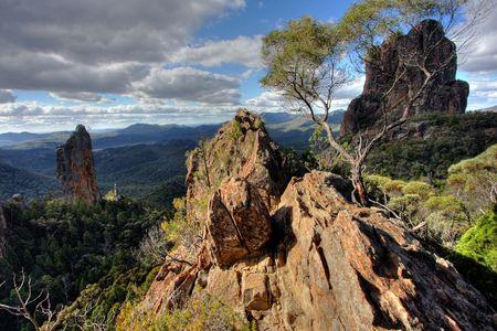 nsw: Warrumbungle National Park in NSW, Australia