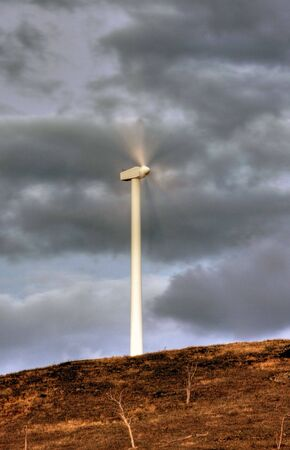 Wind power turbines in Australia Stock Photo - 4929319