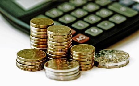 Conceptual image representing financial growth and savings photo