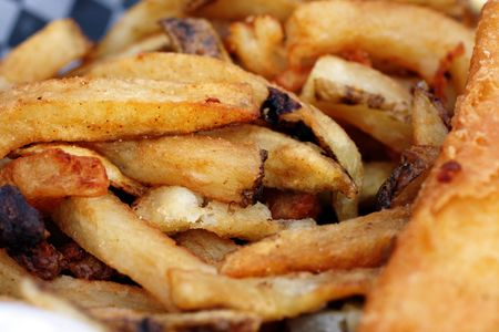 pesce cotto: appena cotti fish and chips