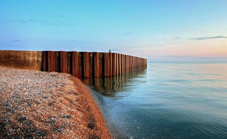 lakescape in Grand Bend in Onta, Canada Stock Photo - 5600574