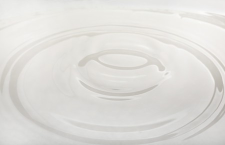 drop of milk falling into a bowl photo