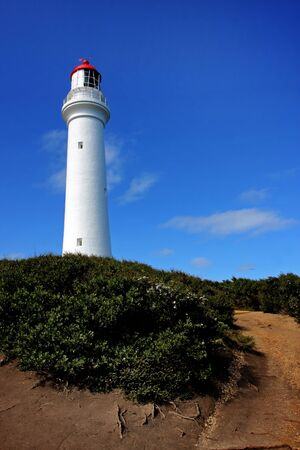 The Split Point Lighthouse, in Victoria, Australia photo