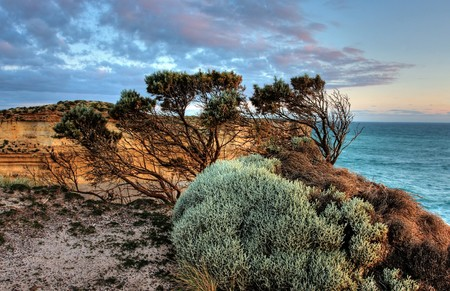 Scenic View along the Great Ocean Road Stock Photo - 7173986