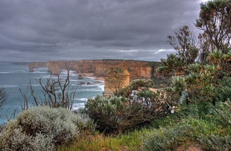 gibson steps and the twelve apostoles along great ocean road photo