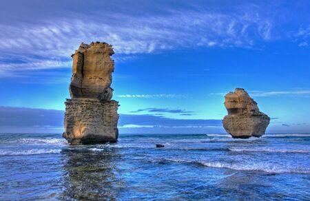gibson steps and the twelve apostoles along great ocean road Stock Photo - 7173790