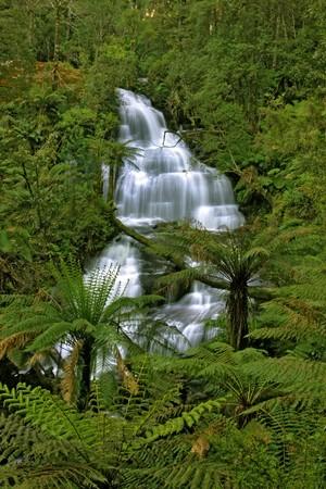 Triplet Falls in Otway National Park photo