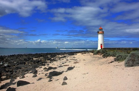 port fairy lighthouse along the great ocean road photo