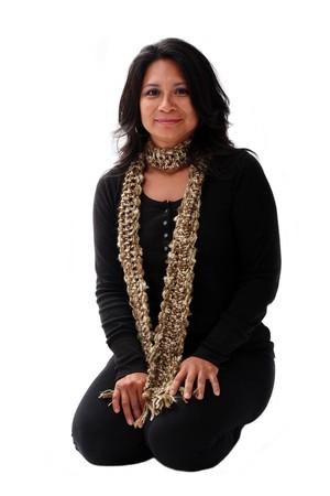 portrait of an attractive latin american women photo
