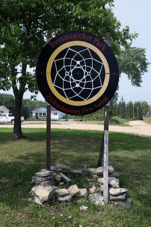worlds largest dreamcatcher in canada photo