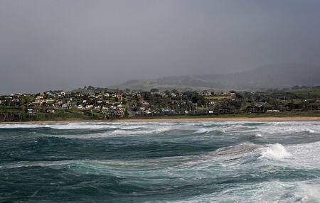 ocean view along the shore photo