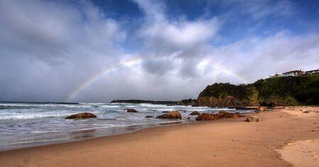 rainbow over the ocean landscape Stock Photo - 7927496