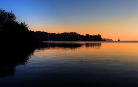 sunrise over hamilton, ontario, canada photo