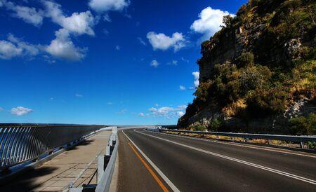 Sea Cliff Bridge along the Grand Pacific Drive Stock Photo - 7979406