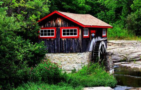 grist: old historic sawmill on manitulin island