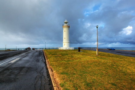 kiama lighthouse against a dramatic sky Stock Photo - 9852462