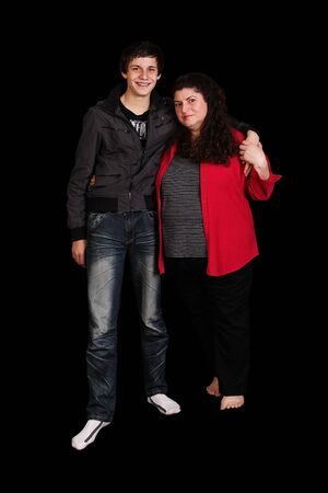 mother and son together Stock Photo - 9852059