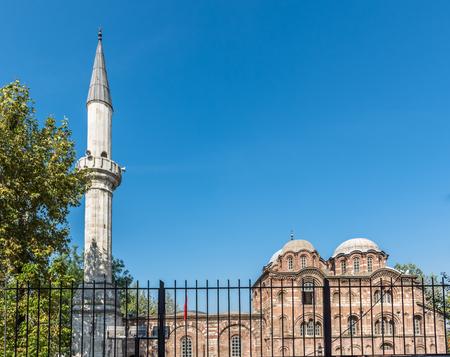 Exterior view of Fethiye Camii (Pammakaristos Church,Byzantine church) in Carsamba vicinity of Fatih county of Istanbul,Turkey.