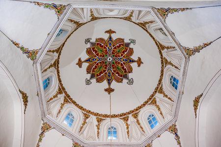 Interior View of Ghazi Orhan Mosque,one of Ottoman emperor in Bursa,Turkey.20 May 2018