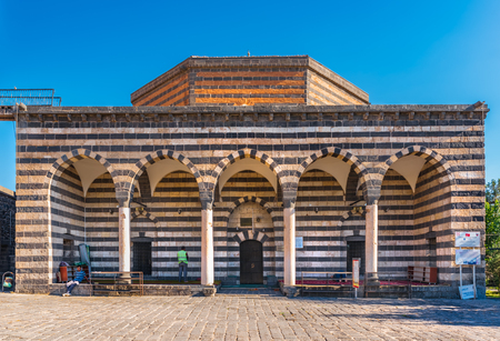 View of Ali Pasha Mosque built by governor Ali Pasha between 1534-1537.Diyarbakir,Turkey.16 July 2018