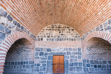 Interior of historical gate named as Mardin gate in sur region in central of Diyarbakir,Turkey. Editöryel