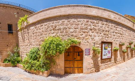 Exterior view of Mardin museum locates in Mardin,Turkey.18 June 2018
