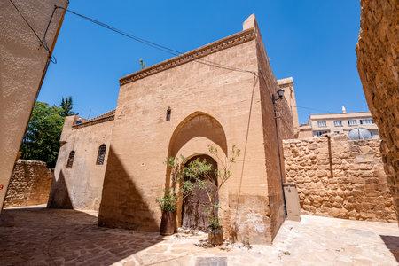 Exterior view of Mor Yusuf (Surp Hovsep;St Joseph) Church  which locates in Mardin,Turkey.18 June 2018
