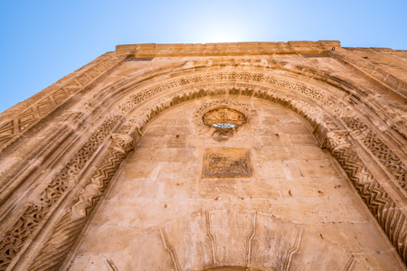 Exterior view of Mor Yusuf (Surp Hovsep;St Joseph) Church  which locates in Mardin,Turkey.18 June 2018