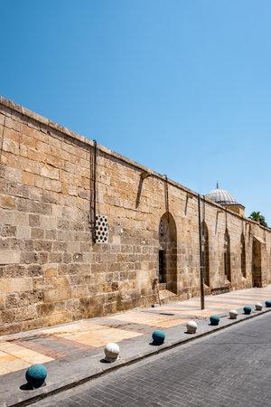 Ancient walls of Ulu(Great) Mosque built between 1170-1175 in Sanliurfa,Turkey. Editorial