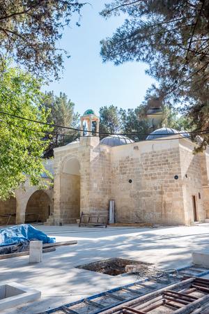 View of tomb,mausoleum of Hayat El-Harrani in Sanliurfa,Turkey.