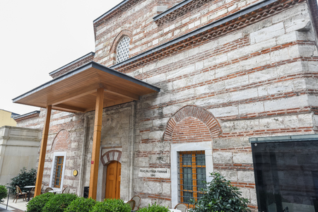 Exterior view of Kilic Ali Pasha Hamam that is part of Ali Pasha Complex, a mosque complex designed and built between 1580 and 1587 by Mimar Sinan in Beyoglu,Istanbul,Turkey.25 July 2019 Editöryel