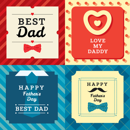 father: Stylish vector modern illustration and design elemenet