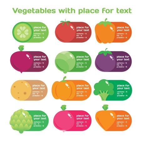 eating habits: modern illustration, stylish design elememt