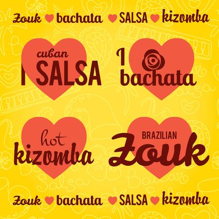 cuban: stylish illustration design element
