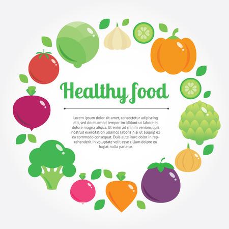 eating habits: Modern flat illustration, stylish design element Illustration