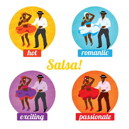 salsa: Vector illustration and design element