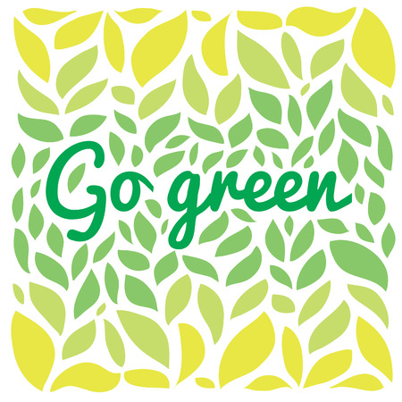 environment friendly: Stylish vector illustration and modern design element